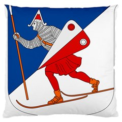 Lillehammer Coat of Arms  Large Cushion Case (Two Sides)
