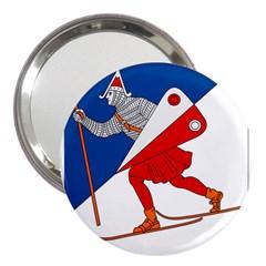 Lillehammer Coat of Arms  3  Handbag Mirrors