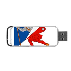 Lillehammer Coat of Arms  Portable USB Flash (Two Sides)