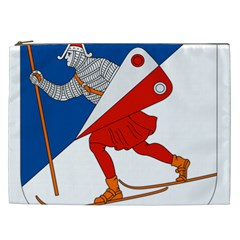 Lillehammer Coat of Arms  Cosmetic Bag (XXL)