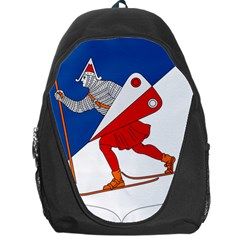 Lillehammer Coat of Arms  Backpack Bag