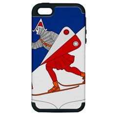 Lillehammer Coat of Arms  Apple iPhone 5 Hardshell Case (PC+Silicone)