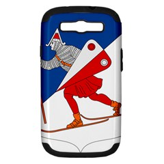 Lillehammer Coat of Arms  Samsung Galaxy S III Hardshell Case (PC+Silicone)
