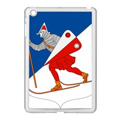 Lillehammer Coat of Arms  Apple iPad Mini Case (White)