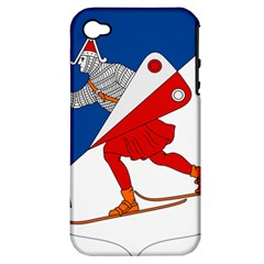 Lillehammer Coat of Arms  Apple iPhone 4/4S Hardshell Case (PC+Silicone)
