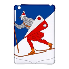 Lillehammer Coat of Arms  Apple iPad Mini Hardshell Case (Compatible with Smart Cover)