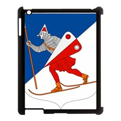 Lillehammer Coat of Arms  Apple iPad 3/4 Case (Black)