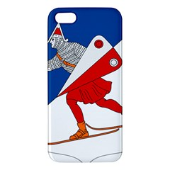 Lillehammer Coat of Arms  Apple iPhone 5 Premium Hardshell Case