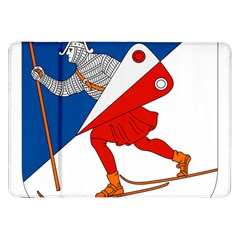 Lillehammer Coat of Arms  Samsung Galaxy Tab 8.9  P7300 Flip Case