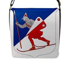Lillehammer Coat of Arms  Flap Messenger Bag (L)