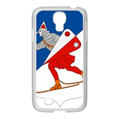 Lillehammer Coat of Arms  Samsung GALAXY S4 I9500/ I9505 Case (White)