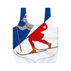 Lillehammer Coat of Arms  Full Print Recycle Bags (M)