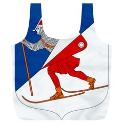 Lillehammer Coat of Arms  Full Print Recycle Bags (L)