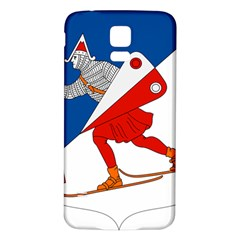 Lillehammer Coat of Arms  Samsung Galaxy S5 Back Case (White)