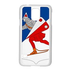 Lillehammer Coat of Arms  Samsung Galaxy S5 Case (White)