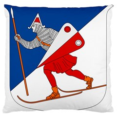 Lillehammer Coat of Arms  Large Flano Cushion Case (Two Sides)