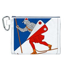 Lillehammer Coat of Arms  Canvas Cosmetic Bag (L)