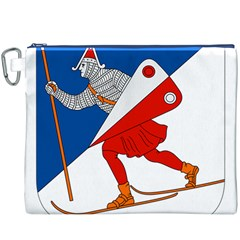 Lillehammer Coat of Arms  Canvas Cosmetic Bag (XXXL)