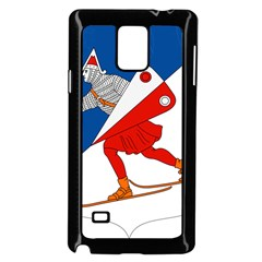 Lillehammer Coat of Arms  Samsung Galaxy Note 4 Case (Black)