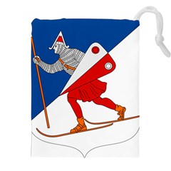 Lillehammer Coat of Arms  Drawstring Pouches (XXL)