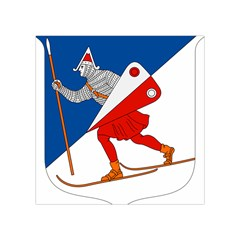 Lillehammer Coat of Arms  Square Tapestry (Small)