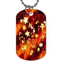 Background Pattern Lines Oval Dog Tag (one Side)