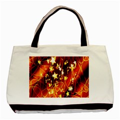 Background Pattern Lines Oval Basic Tote Bag
