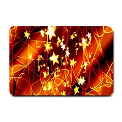 Background Pattern Lines Oval Small Doormat