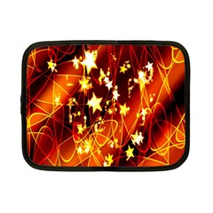 Background Pattern Lines Oval Netbook Case (small)