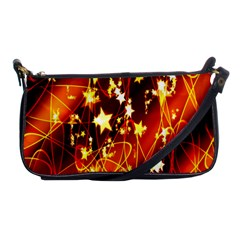 Background Pattern Lines Oval Shoulder Clutch Bags