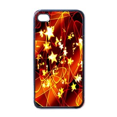 Background Pattern Lines Oval Apple Iphone 4 Case (black)