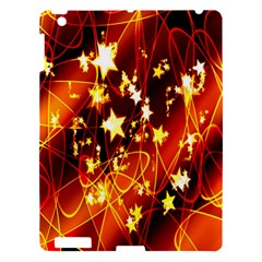 Background Pattern Lines Oval Apple Ipad 3/4 Hardshell Case