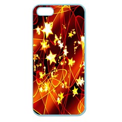 Background Pattern Lines Oval Apple Seamless Iphone 5 Case (color)