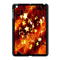 Background Pattern Lines Oval Apple Ipad Mini Case (black)
