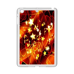Background Pattern Lines Oval Ipad Mini 2 Enamel Coated Cases