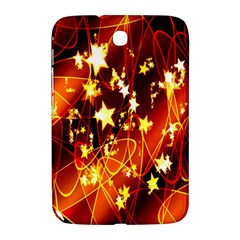 Background Pattern Lines Oval Samsung Galaxy Note 8 0 N5100 Hardshell Case