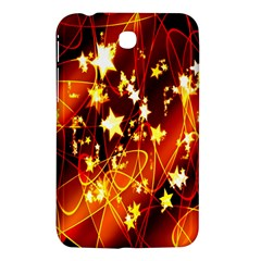 Background Pattern Lines Oval Samsung Galaxy Tab 3 (7 ) P3200 Hardshell Case