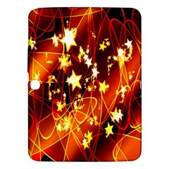 Background Pattern Lines Oval Samsung Galaxy Tab 3 (10 1 ) P5200 Hardshell Case