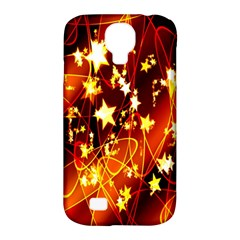 Background Pattern Lines Oval Samsung Galaxy S4 Classic Hardshell Case (pc+silicone)
