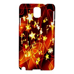 Background Pattern Lines Oval Samsung Galaxy Note 3 N9005 Hardshell Case