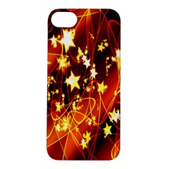 Background Pattern Lines Oval Apple Iphone 5s/ Se Hardshell Case