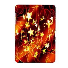 Background Pattern Lines Oval Samsung Galaxy Tab 2 (10 1 ) P5100 Hardshell Case