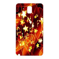 Background Pattern Lines Oval Samsung Galaxy Note 3 N9005 Hardshell Back Case