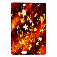 Background Pattern Lines Oval Amazon Kindle Fire Hd (2013) Hardshell Case