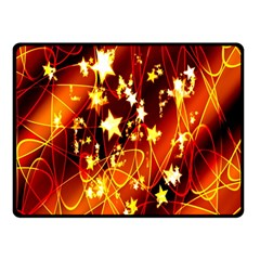 Background Pattern Lines Oval Double Sided Fleece Blanket (small)
