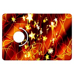 Background Pattern Lines Oval Kindle Fire Hdx Flip 360 Case