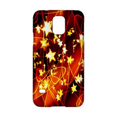 Background Pattern Lines Oval Samsung Galaxy S5 Hardshell Case