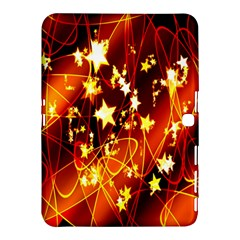 Background Pattern Lines Oval Samsung Galaxy Tab 4 (10 1 ) Hardshell Case