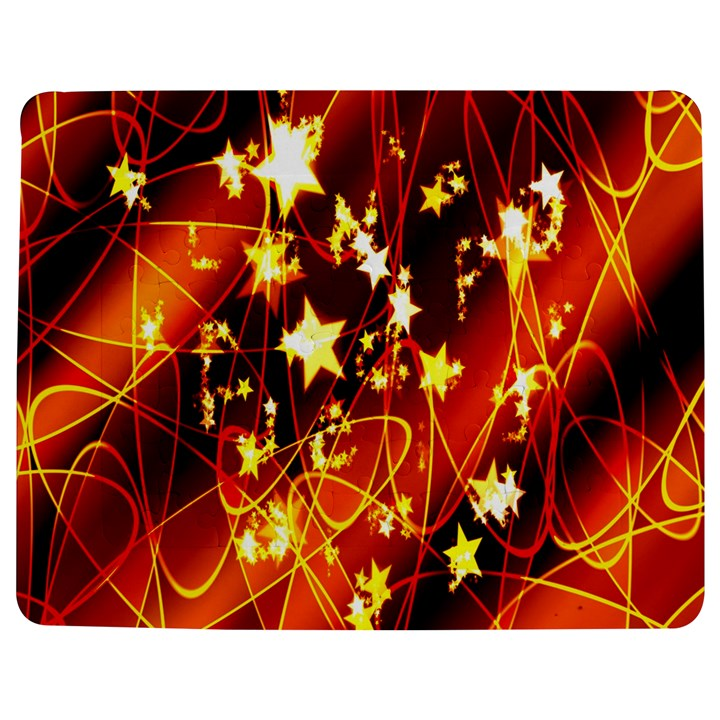 Background Pattern Lines Oval Jigsaw Puzzle Photo Stand (Rectangular)