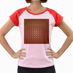 Background Seamless Repetition Women s Cap Sleeve T-Shirt